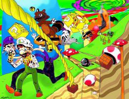 Super Luigi World by stinson627