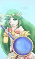 Lady Palutena by NarutoxHinatafan