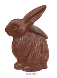 Chocolate rabbit by VishKeks
