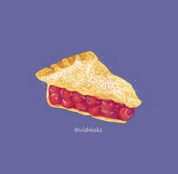 Cherry pie by VishKeks