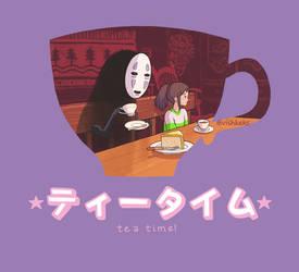 Tea time - Spirited away by VishKeks