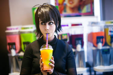Johnny, have you tried this slurpee?! by Reign-Cosplay