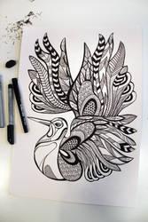 Birdy by sunnasdoodles