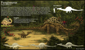Fungisaurus by l3onnie