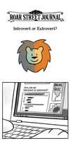 [RSJ webtoon] Introvert or Extrovert? by l3onnie