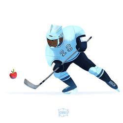 Ice Hockey by l3onnie