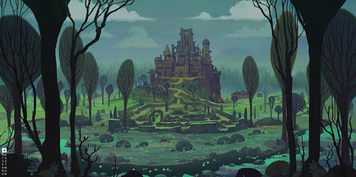 Rosengava Castle by rickardwestman