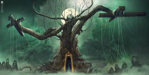 WORLD TREE by rickardwestman