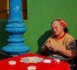 Gypsy woman by Samtresska