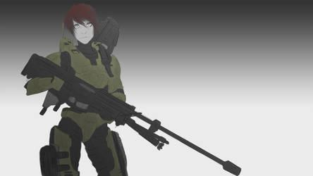 Spartan II by Hazard-Trooper