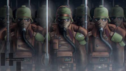 261st Siege Regiment by Hazard-Trooper