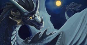 Dragon Blue by SamuraiDragon