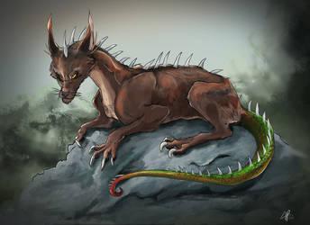 Liz-hound by SamuraiDragon