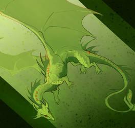 Green Noodle by SamuraiDragon