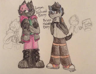 Logan and Privet by ArtistDetective