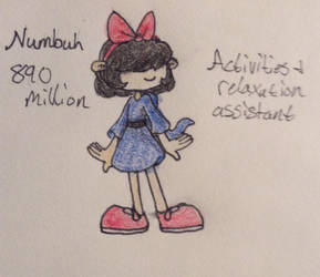 Numbuh 890 million by ArtistDetective