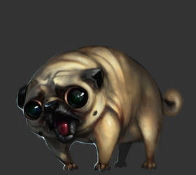 Pug by The-Gij