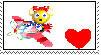 Pipsy Stamp by CRAZ4cartoon