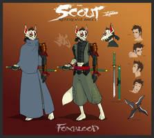 Foxblood Ref Sheet by TravisHarris
