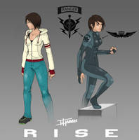 Project RISE: Costume Concepts by TravisHarris