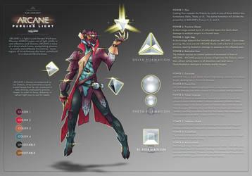 ARCANE - Warframe Fan Concept by TravisHarris