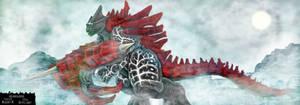 Akuroghan for KaijuX by LucasCGabetArts