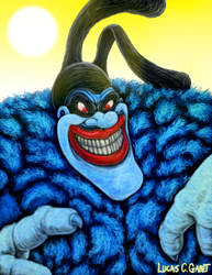 Chief Blue Meanie by LucasCGabetArts