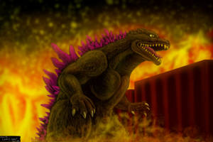 Godzilla 2000 by LucasCGabetArts