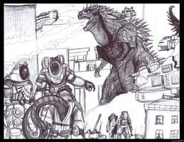 Fourth Age Monster Battle 001 by LucasCGabetArts