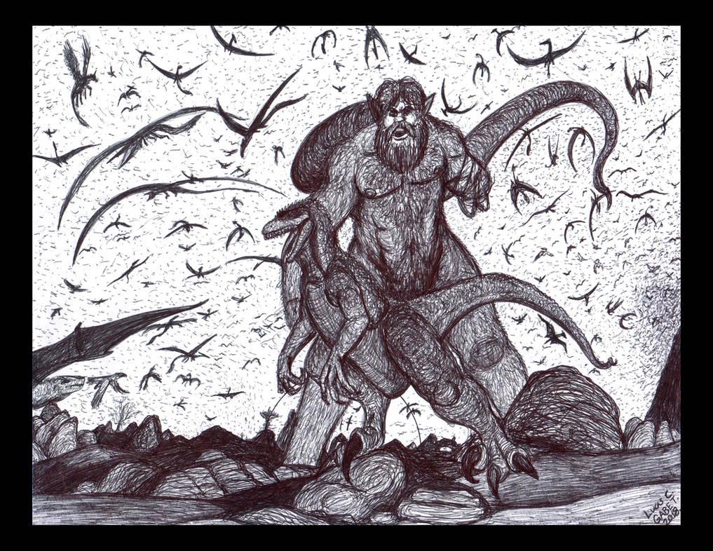 Black Desert Hunt by LucasCGabetArts