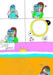 mickau and sky comic page 2 by Mickau