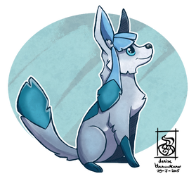 Glaceon by AlynC