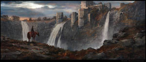 Castle Falls by Milkduster