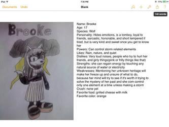 Brooke's bio(EDIT: READ THE DESCRIPTION) by Destinyhunter77