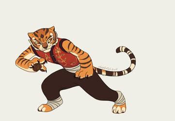 Master Tigress by Utulivu