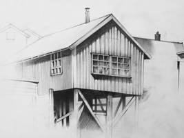 Norwegian architecture by MRespondowski