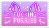 Fucking furries stamp F2U by SugarDaddyy