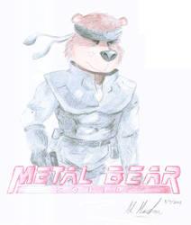 Metal Bear Solid by FelixAndrews