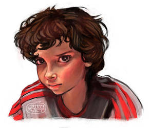 Eleven of Stranger Things by Jessandeviant