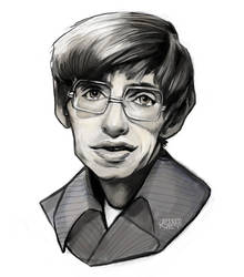Hawking tribute by Jessandeviant