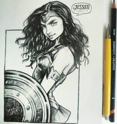 Wonder Woman by Jessandeviant