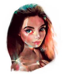 Girl Light Study by Jessandeviant