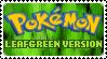 Stamp - PKMN LeafGreen Version by kaitoupirate
