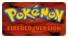 Stamp - PKMN FireRed Version by kaitoupirate