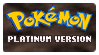 Stamp - PKMN Platinum Version by kaitoupirate