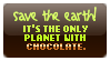 Stamp - Save the Earth... by kaitoupirate