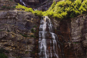 Bridal Veil Falls by Torqie