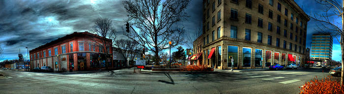 Downtown Grand Junction HDR by Torqie