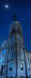 Church Tower by Torqie