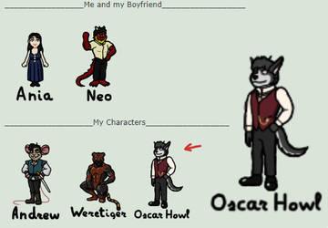 ~New Mini-Character - Oscar Howl~ by AniaDawson
